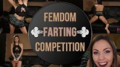FEMDOM FARTING COMPETITION