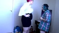 Tall Obese Lecturer Turns Her Bad Pupil Into A Fart Slave – Pastel Goddess