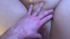 Naughty Nubile Girlfriend's Sloppy Cunt Farts Out Creampie