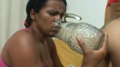 Mfx Brazilian Hoes Ass Gasing In A Vase